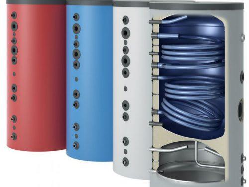 Warmtepomp combinatie buffer